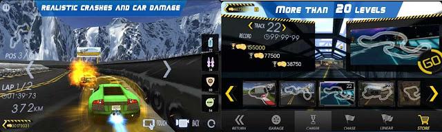 لعبة Crazy Racer 3D تحميل
