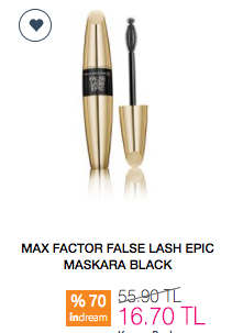 Max Factor False Lash Epic Maskara