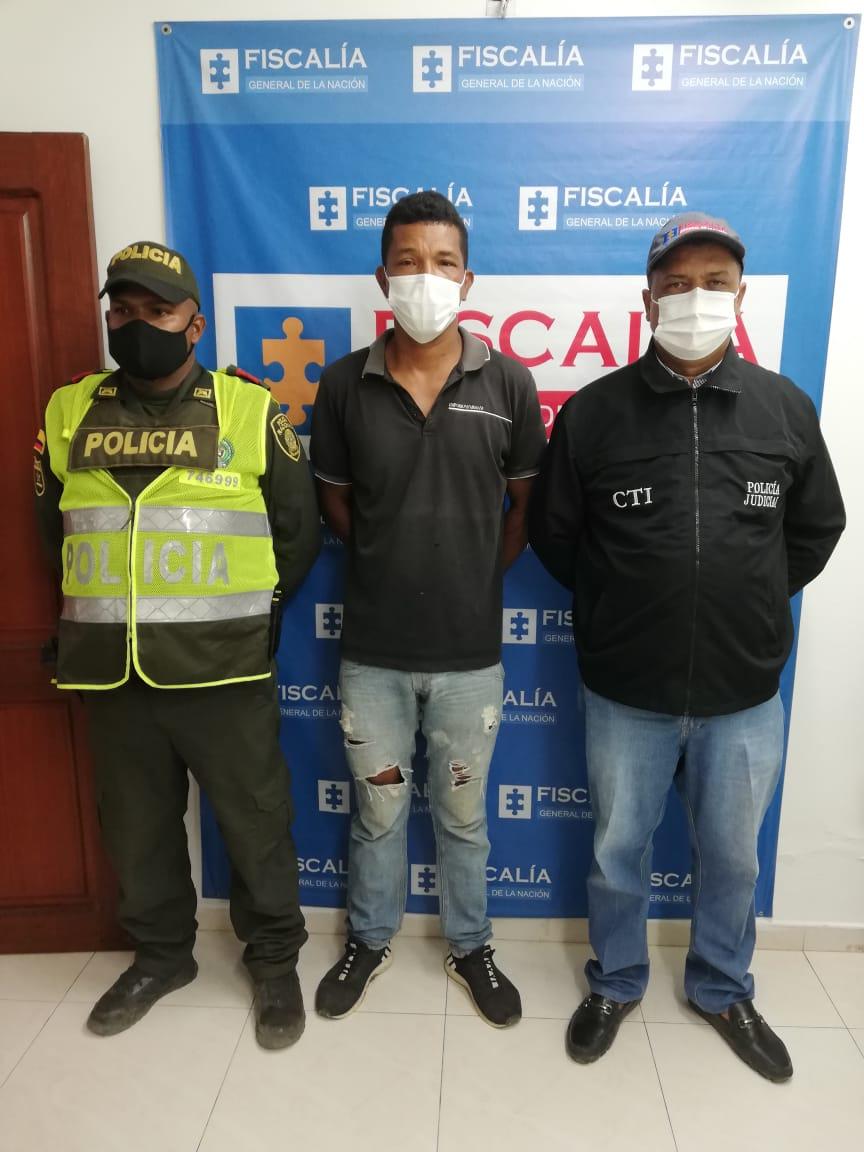 hoyennoticia.com, Capturado por acceso carnal violento en Riohacha