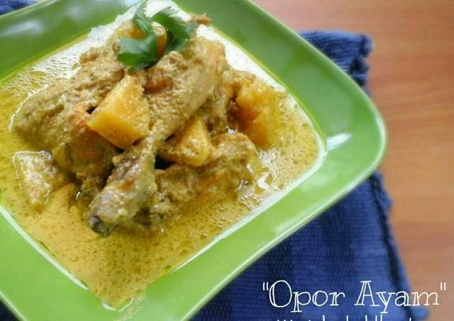 Resep Opor Ayam betawi asli