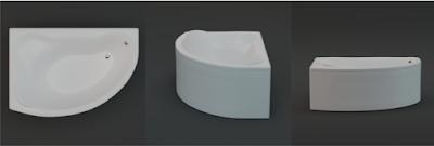 vasca da bagno 3d, 3D, modello 3d
