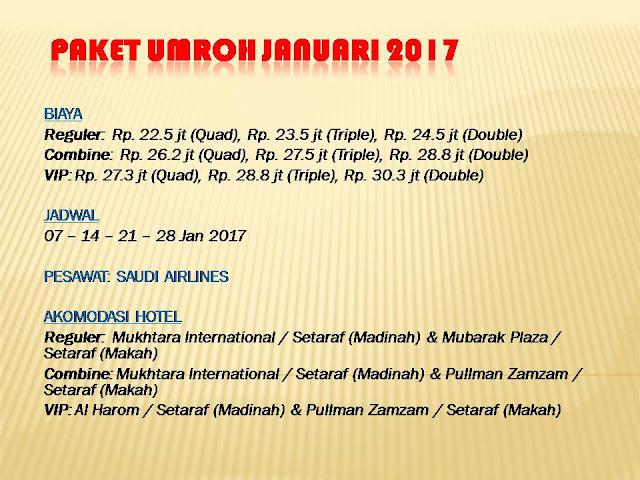 Promo Umroh Januari 2017, harga Promo Umroh Januari 2017, biaya Promo Umroh Januari 2017, Promo termurah Umroh Januari 2017, Promo Umroh Januari 2017 Travel Alhijaz Jakarta,