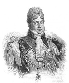 The Prince of Wales, later George IV  from Memoirs of her late royal   highness Charlotte Augusta  by Robert Huish (1818)