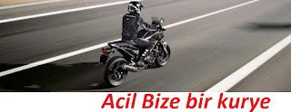 İstanbul acil motorlu kurye hizmeti ile vakit kazanın