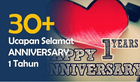Kata Kata Happy Anniversary 1 Tahun Pacaran