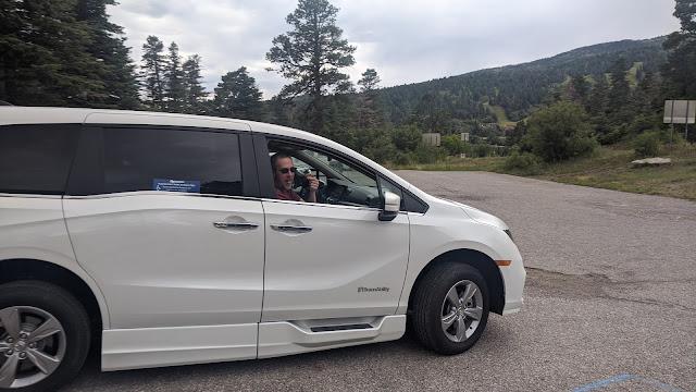 wheelchair minivan road trip vacation