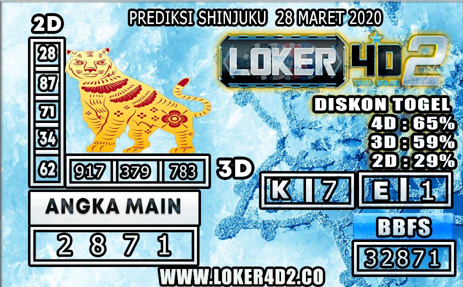 PREDIKSI TOGEL SHINJUKU LUCKY 7 LOKER4D2 28 MARET 2020