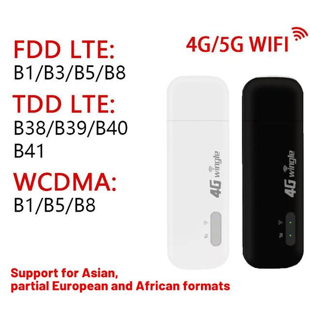 4G Wireless Internet Wifi Router Portable WIFI Full Netcom USB Portable WIFI Modem Broadband Hotspot Repeater