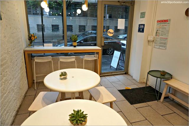 Cafetería Saltwater Coffee, Nueva York