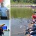 Ratusan Pemancing Tumpah Ruah di Telaga Wahyu, Seekor Sapi Jadi Target Buruan