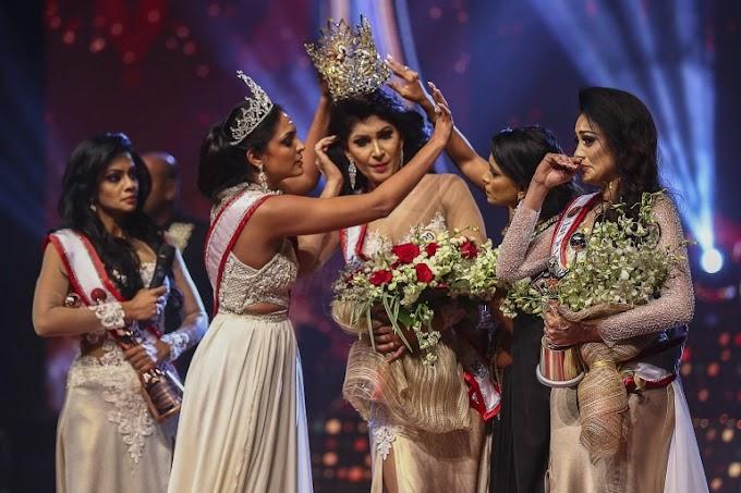 Sri Lanka arrests 'Mrs World' after on-stage fracas, assault