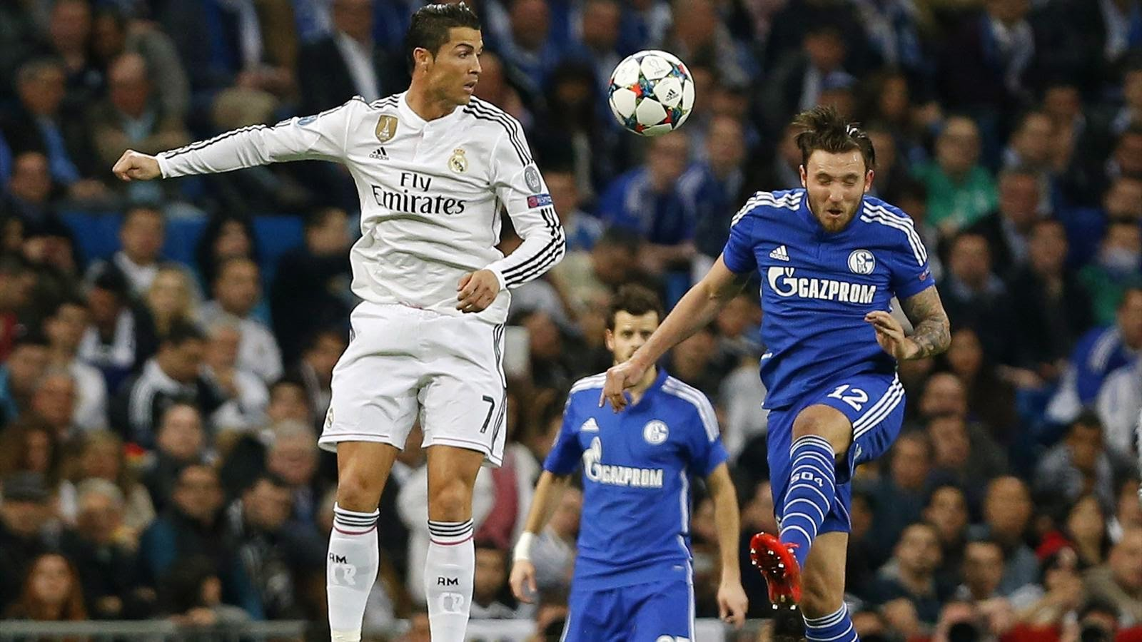 #UEFAResults - Real Madrid 3-4 Schalke (Agg 5-4)
