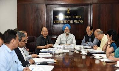 Hardeep Singh Puri Chairs Meeting Via Video Conference on Regional Connectivity Scheme (RCS-Udan)