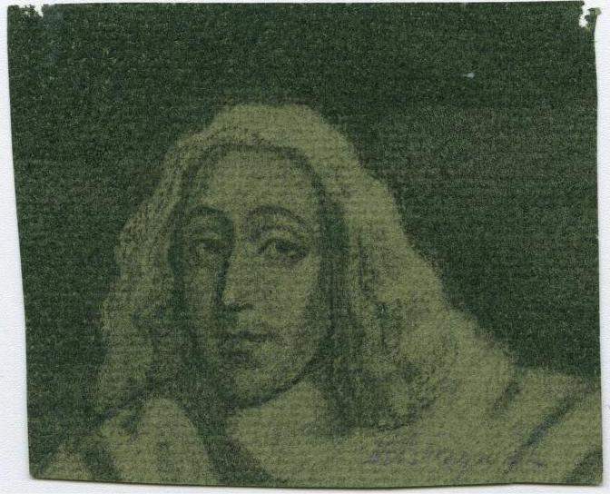 Portret van Spinoza in 1932 getekend door Max Busyn (1899 – 1976); Courtesy of the Leo Baeck Institute