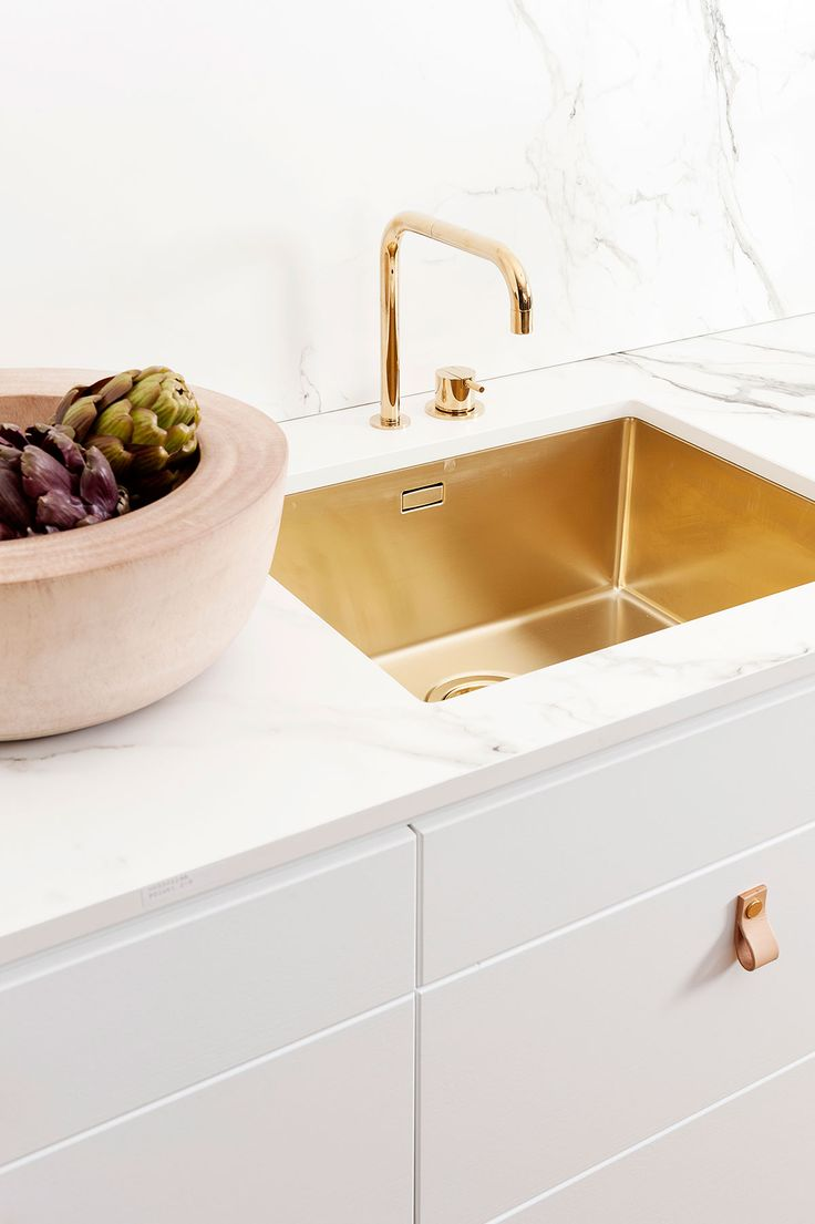 Decor Inspiration | Gorgeous Gold and Rose Kitchens | Cool Chic ...