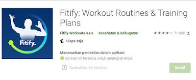 Jadwal Workout Dirumah