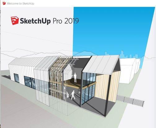 Screenshot SketchUp Pro 2019 v19.3.255 Full Version