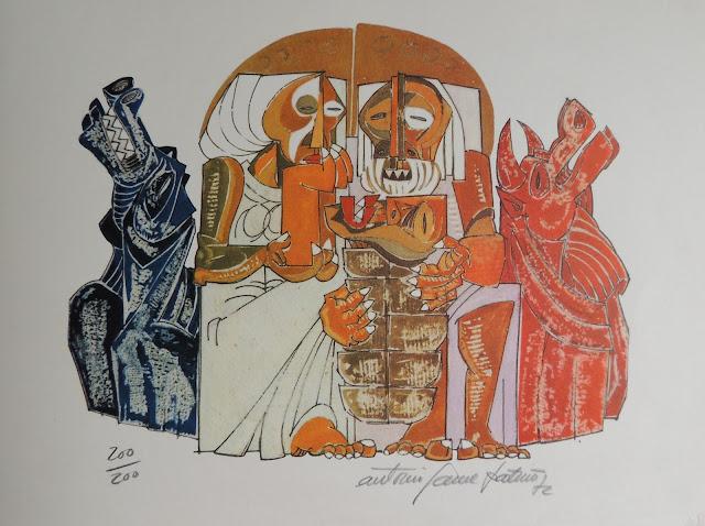 Antonio Patiño serigrafía arte