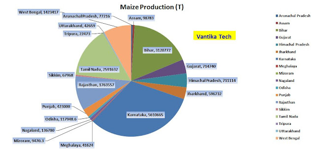 Largest Producer of Maize in India