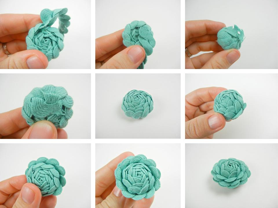 Adesivo De Flores Para Roupas ~ Ateli u00ea Solzinha Artes Diy Como fazer anel de rosa de sianinha