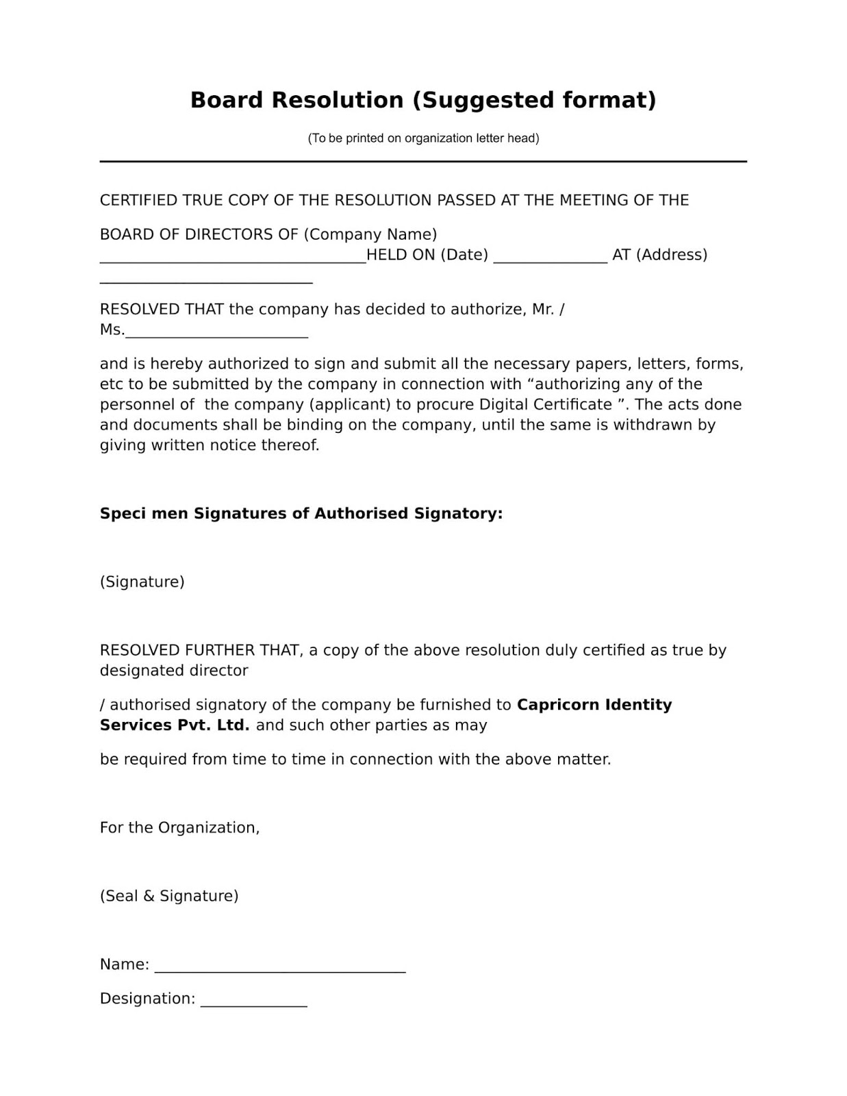 Board Resolution Template Signature Authority from 1.bp.blogspot.com