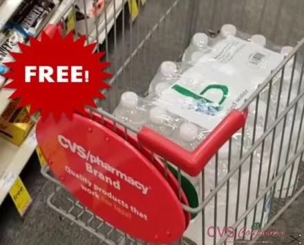 FREE Just The Basics Water 24 Pk CVS Deal