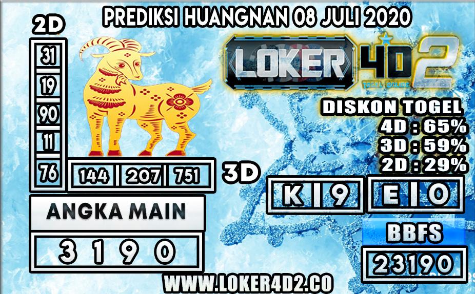 PREDIKSI TOGEL HUANGNAN LOKER4D2 08 JULI 2020
