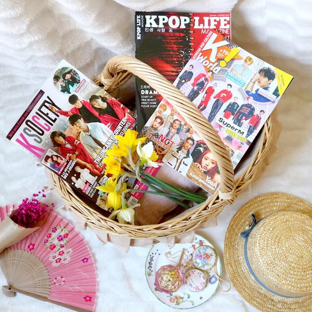 Top 3 des magazines coréens