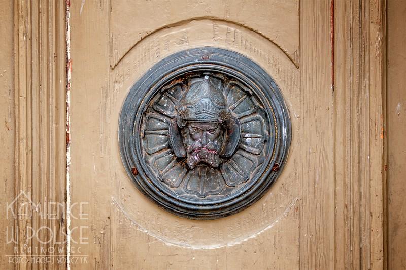 Tczew: detal z drzwi
