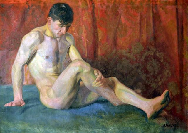 José Gálvez Roch, Artistic Nude, Portrait arts, Nude Art, Human Study, Nude by Painter José Gálvez Roch