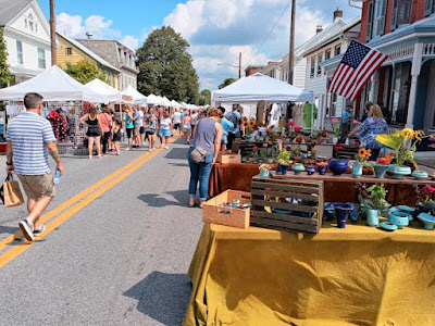 The Fall Arts Festival in Hummelstown Pennsylvania