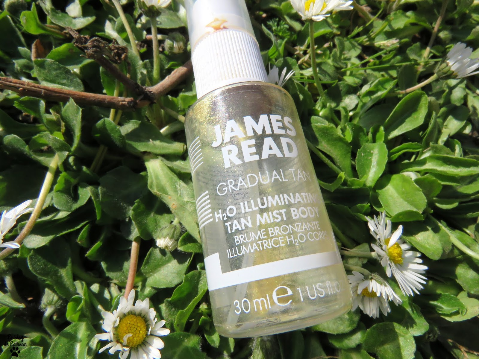 H2O Illuminating Tan Mist Body - Brume Bronzante Illuminatrice H20 Corps - James Read