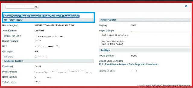 Tutorial Lengkap Cek Status Verifikasi A1 Calon Peserta Sertifikasi - PPGDJ