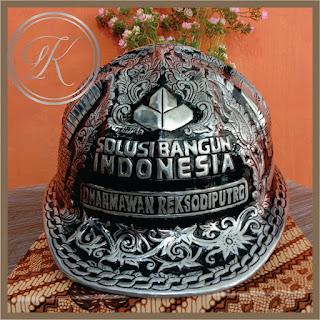 Helm Ukir Alumunium Solusi Bangun Indonesia