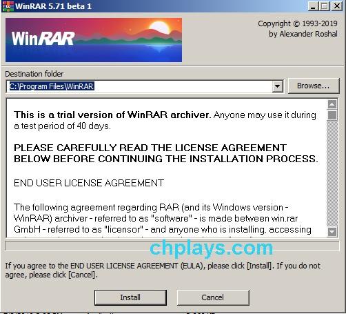 Cách cài đặt WinRAR 5.71 đơn giản nhất 1