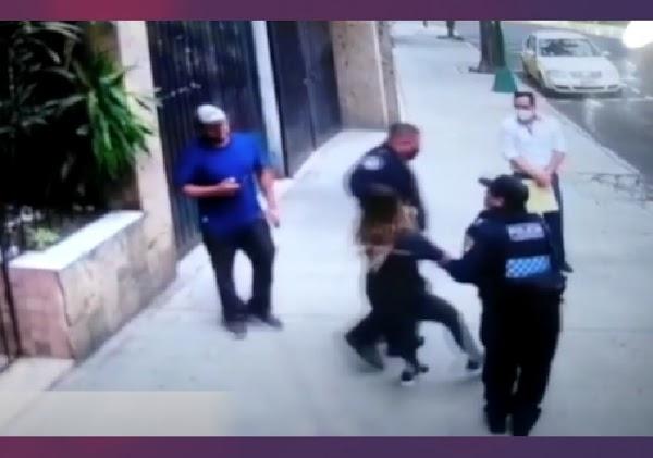 Ivonne era acosada por su vecino, llamó a la policía y se la llevaron a ella, se teme lo peor