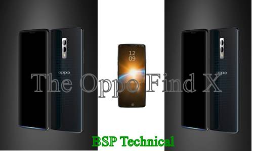 The Oppo Find X New Smart Phone(2018)