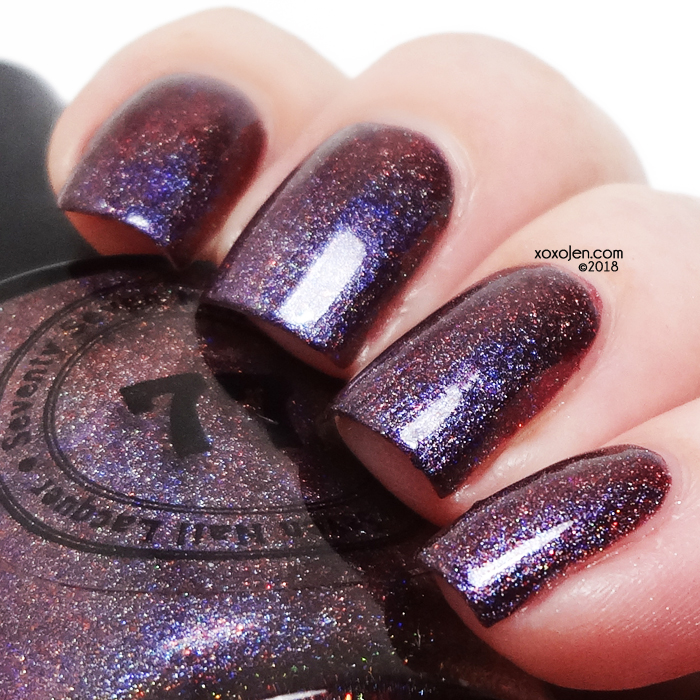 xoxoJen's swatch of 77 Lacquer Chase