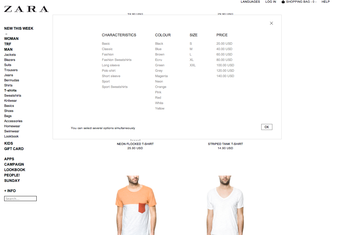 zara weaknesses there is very little digitalization in zara s website a reason be because all websites for all countries look the same and are one