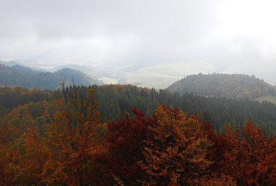 Widok w kierunku Przełęczy Korbalowej.