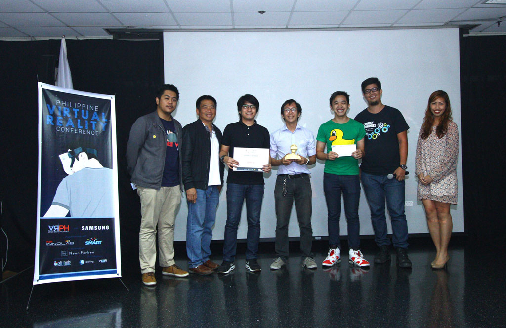 The Philippine Virtual Reality Conference Mobile VR Jam winners