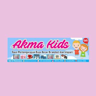 Banner toko pakaian anak