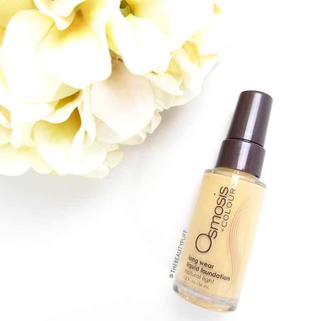 osmosis colour foundation - the beauty puff