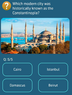 Which modern city was historically known as the Constantinople?