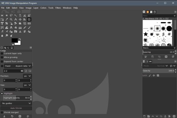 GIMP Aplikasi edit foto