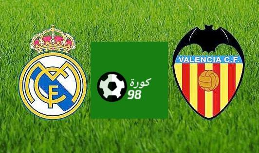 مباراة ريال مدريد وفالنسيا فى الجولة 28 من اللاليجا