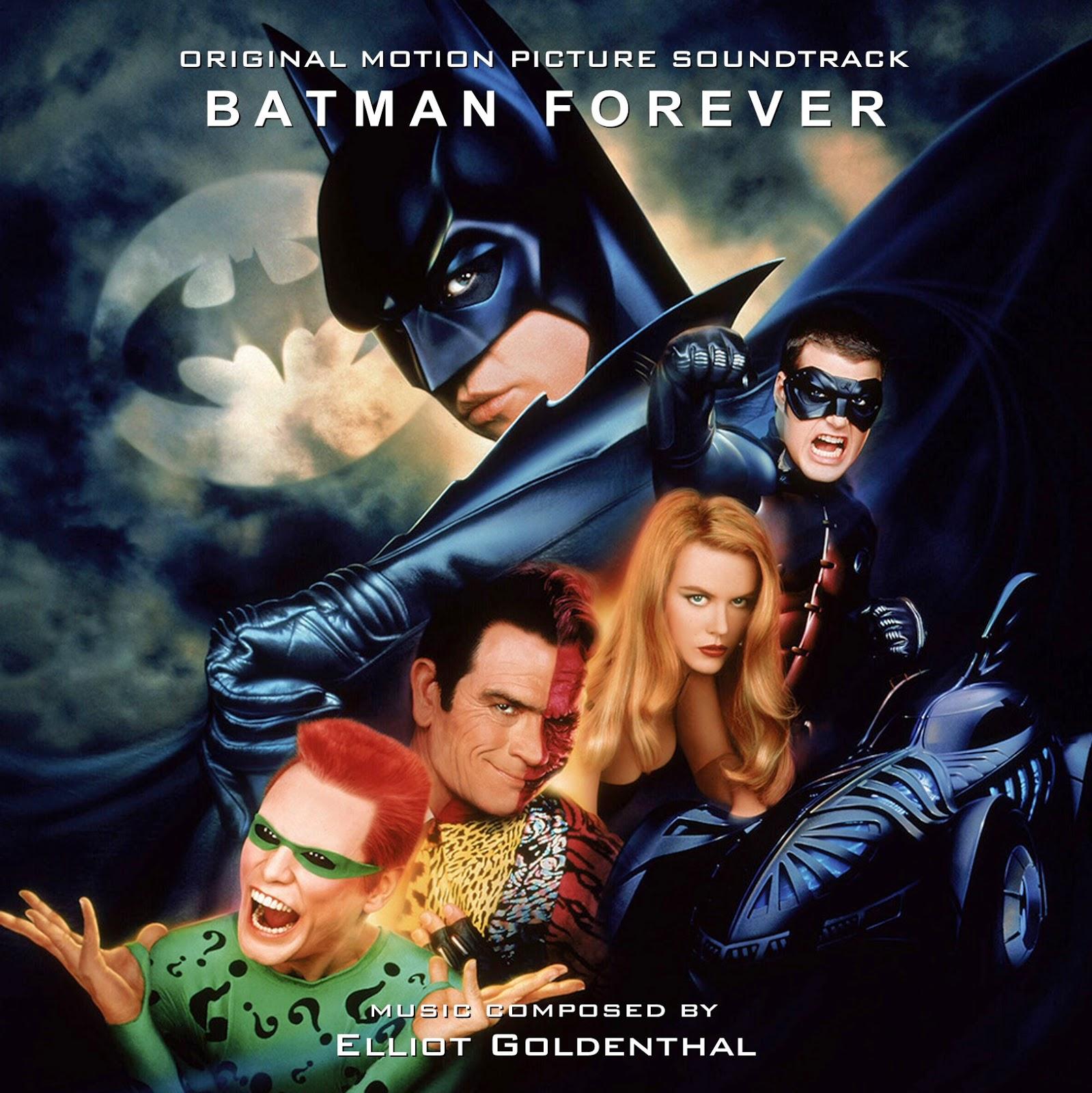 BATMAN FOREVER Complete Score [JR2CD 150421-1] | MIS EN