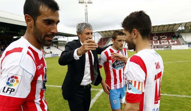 La historia reciente del CD Lugo en una imagen |Foto: Fútbol de Lugo.