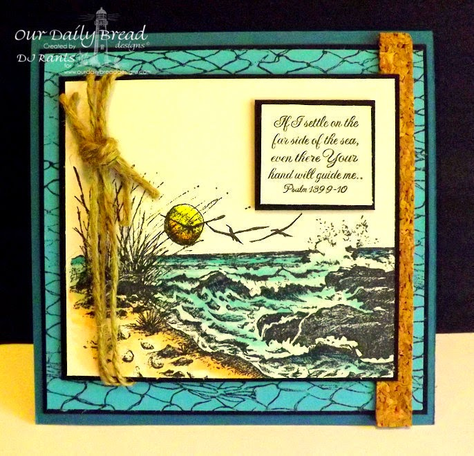 Stamps - Our Daily Bread Designs The Mighty Sea, Fishing Net Background