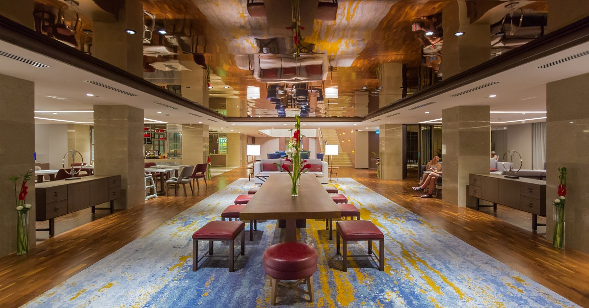 Executive Lounge at Hilton Kota Kinabalu
